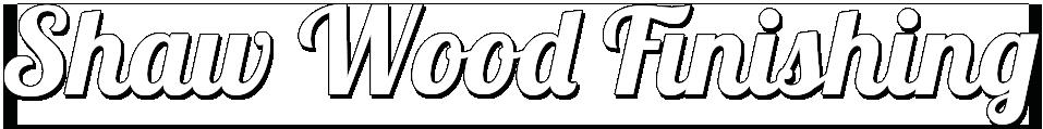 Shaw Wood Finishing Logo